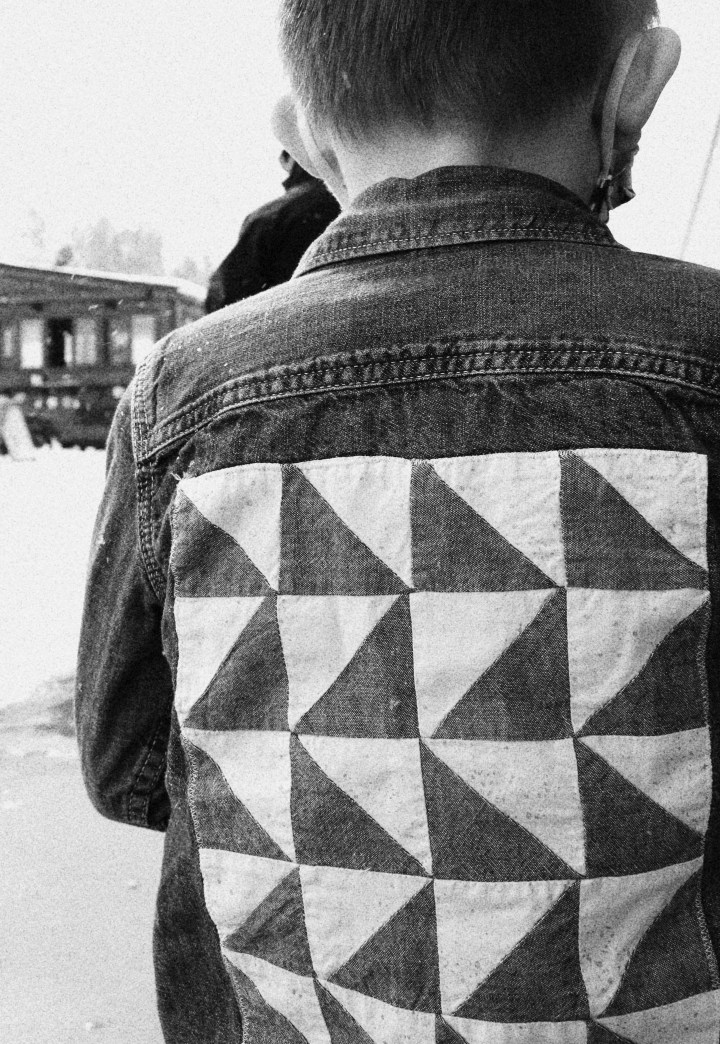 How to Make your own Patchwork Denim Jacket