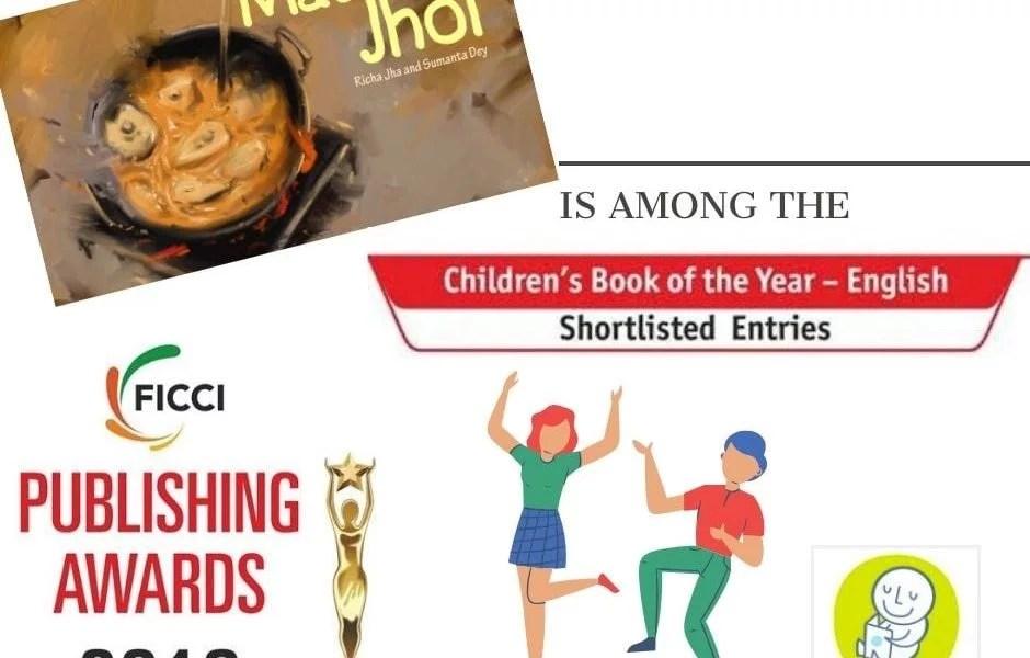 MACHHER JHOL is on the FICCI Book award Shortlist