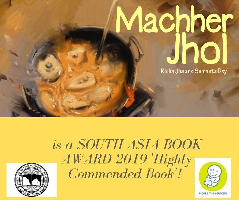 MACHHER JHOL is a 'Highly Commendable Book' at the South Asia Book Award 2019