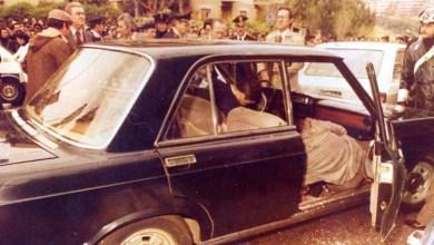 Roma: i corpi senza vita del maresciallo Oreste Leonardi e dell'appuntato Domenico Ricci nella Fiat in via Fani (16 marzo 1978)