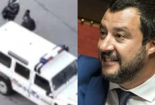 Matteo Salvini video migranti e polizia francese