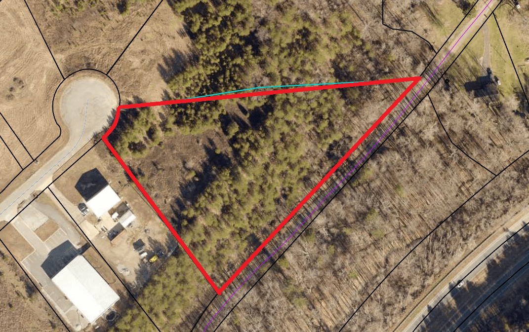 3.68 ac Zoned Industrial (parcel 066-183)