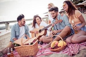 Picknickdecke Familie