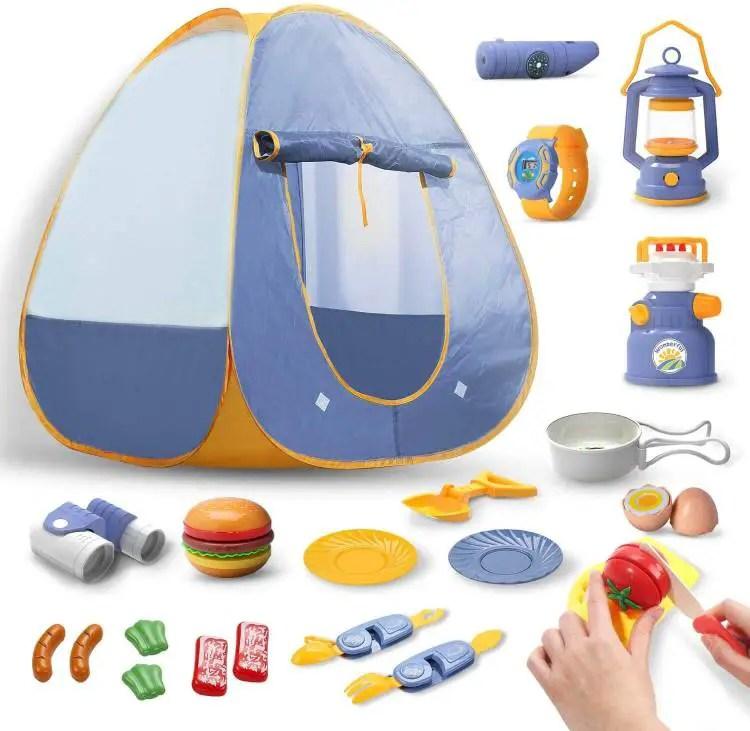 DEERC Kids Camping Tent Set Toys
