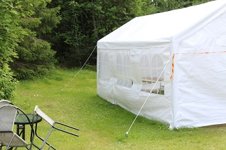 How To Set Up A Big Tent