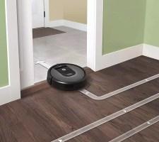 Roomba 960 Sleek design
