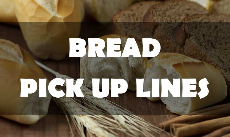 bread pick up lines