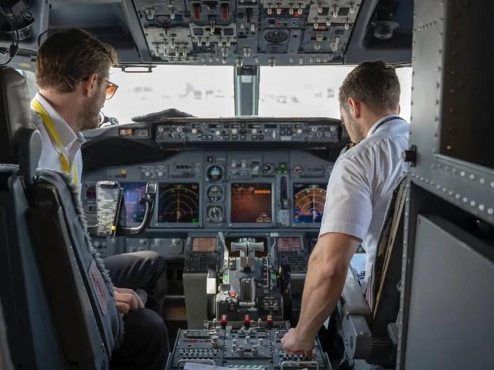pilot pick up lines