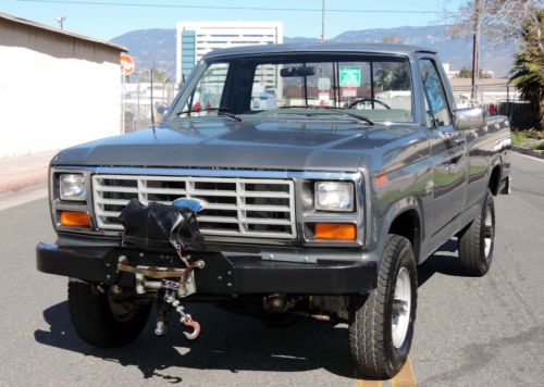 1986 Ford F 250 4 215 4 California Truck For Sale