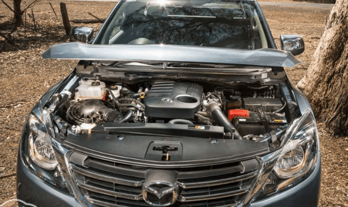 2021 Mazda BT-50 Engine