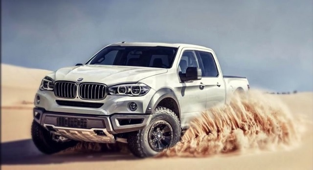 BMW X7 Pickup Truck Concept Has 'zero' Chance for Production