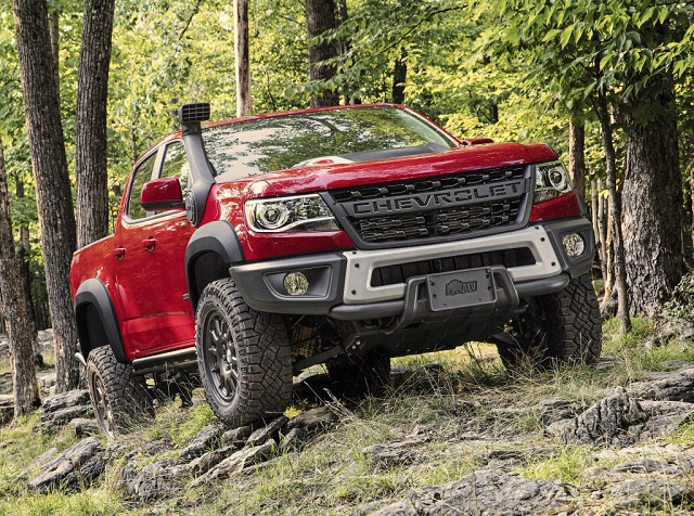 2021 Chevy Colorado ZR2 Bison Changes and Specs