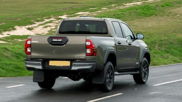 2022 Toyota Hilux rear
