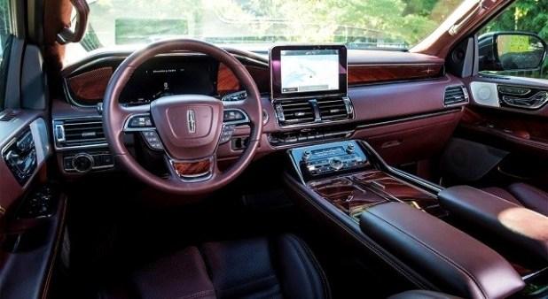 2022 Lincoln Mark LT interior