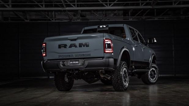 2023 Ram 2500 rear