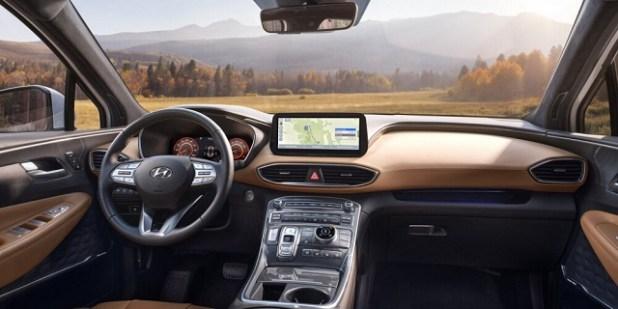 2023 Hyundai Santa Cruz Inside