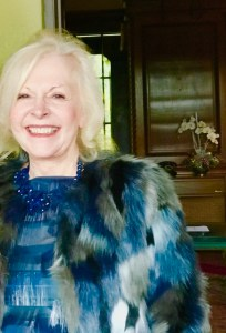 Cindy's casual holiday look. Perfect for running holiday errands on a chilly LA day. Dior Cuff bracelets, Guess faus fur jacket. Marc Jacobs cellophane top, J.Crew necklace. Mix high low for glamour.