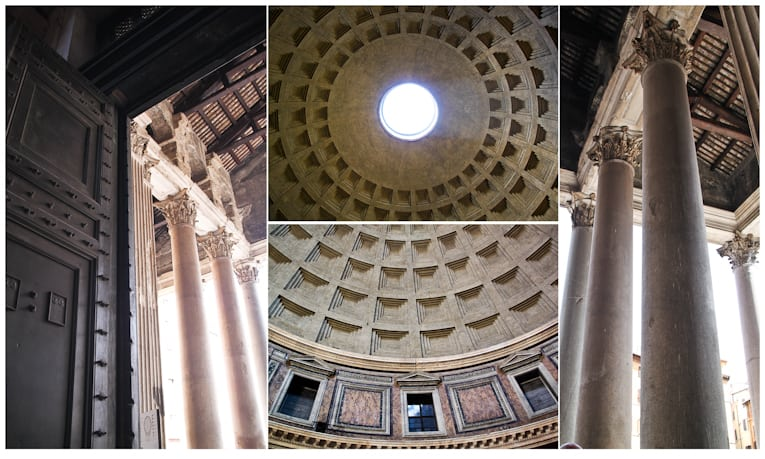 2 - pantheon collage