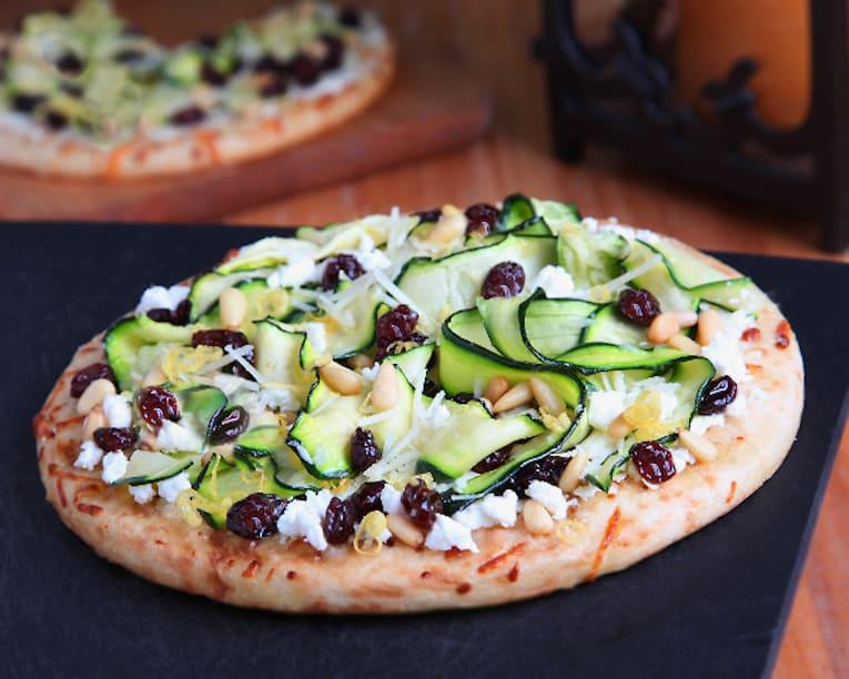 zucchini ribbons pizza