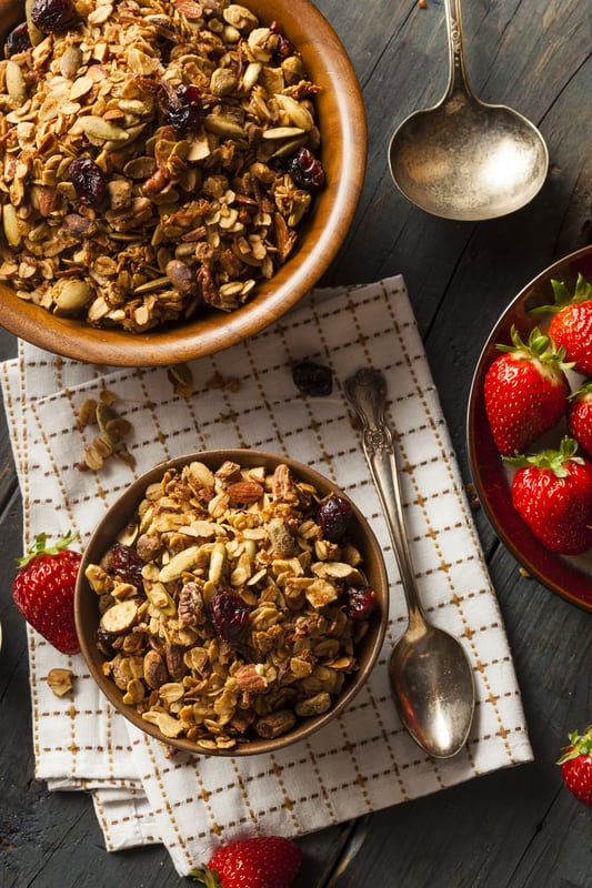 Maple Granola 3