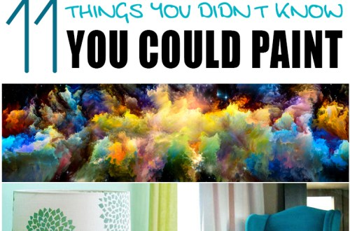 11 Things You Didn't Know You Could Paint