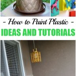 Painting, how to paint plastic, painting plastic, popular pin, DIY home, DIY home improvement, home improvement ideas, DIY home decor.