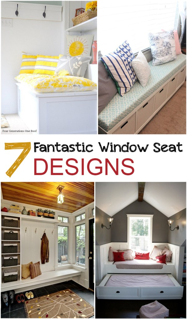 7 Fantastic Window Seat Designs