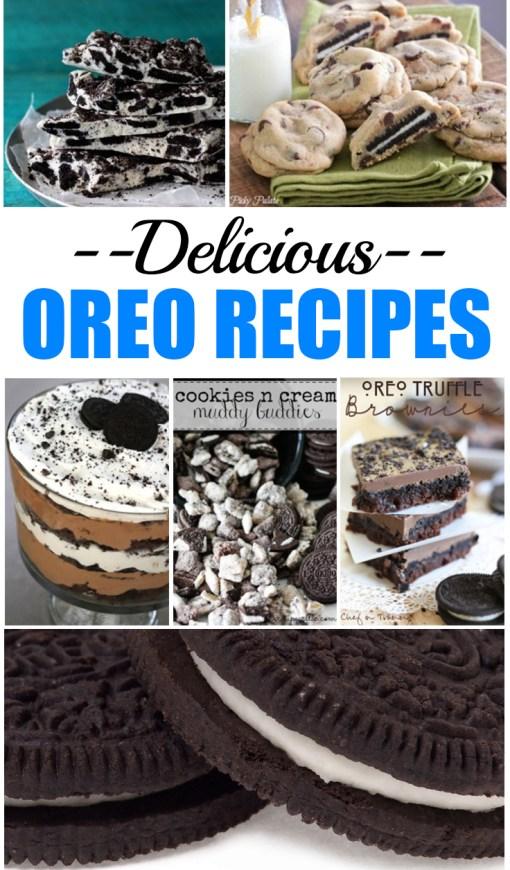 Delicious Oreo Recipes