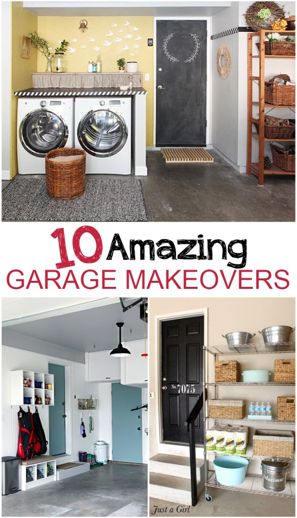 10 Amazing Garage Makeovers