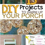 DIY front porch, front porch projects, DIY home, DIY porch, popular pin, home decor, DIY home remodel, curb appeal projects, easy curb appeal projects.
