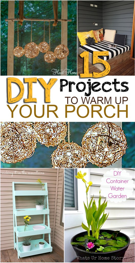 DIY front porch, front porch projects, DIY home, DIY porch, popular pin, home decor, DIY home remodel, curb appeal projects, easy curb appeal projects.