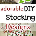 10 Adorable DIY Stocking Designs