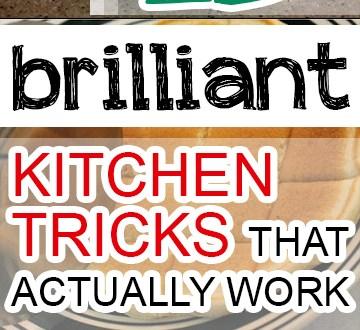 15 Brilliant Kitchen Tricks That Actually Work