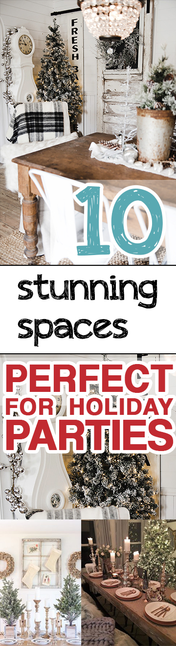 Holiday Parties, Decorating for Holiday Parties, Holiday Party Hacks, How to Decorate for Holiday Parties, Easy Ways to Decorate for Holiday Parties, Popular Pin, Easy Decorating Hacks, Home Decor Holiday Tips