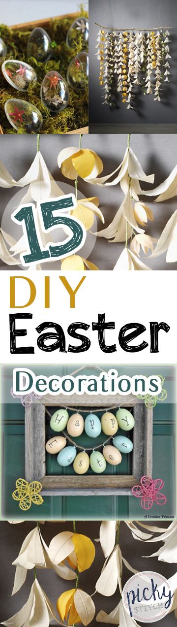 DIY Easter Decor, Easter Decorations, Easy Easter Decorations, Homemade Easter Decorations, Easter Decor, Handmade Easter Decor, Easter, Easter Fun, How to Decorate for Easter, Spring, Spring Decor, Popular Pin