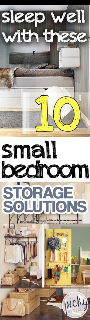 PIN Sleep Well With These 10 Small Bedroom Storage Solutions