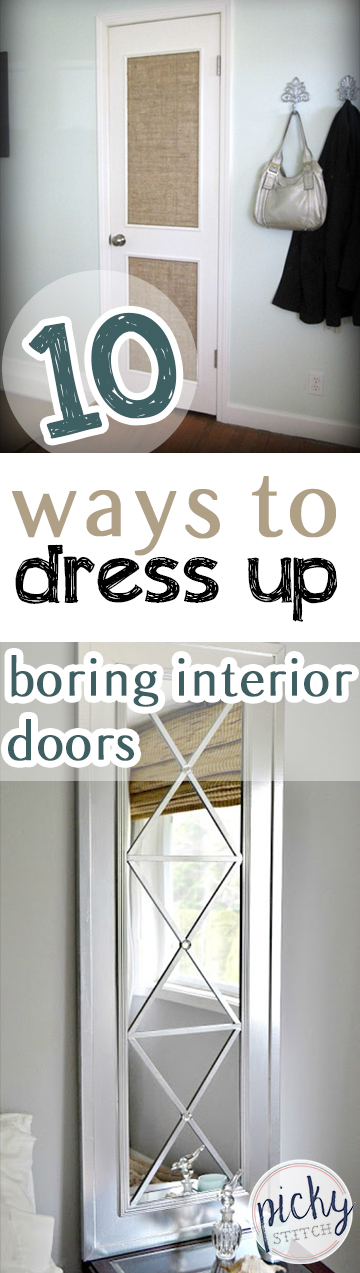 gray interior doors 10 ways to dress up boring interior doors picky stitch