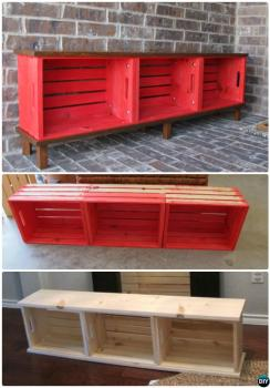 Renovate Your Entryway with a DIY Bench! {10 Tutorials and Projects}  How to Decorate Your Entryway, Entryway Renovation, Entryway Renovation Projects, DIY Home, DIY Home Decor, Popular Pin, DIY Bench Projectss