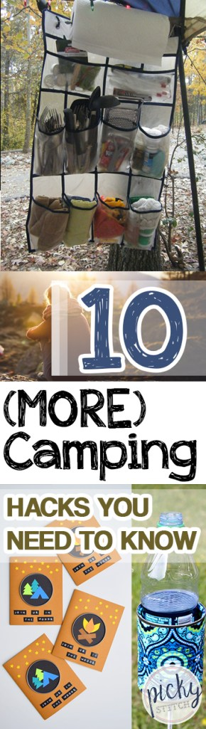 Camping, Camping Hacks, Camping Tips and Tricks, Camping 101, DIY Camping Hacks, Life Hacks, Popular Pin