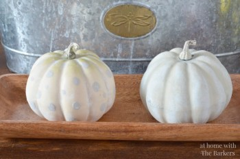 Learn How to Whitewash A Pumpkin  How to Whitewash a Pumpkin, Whitewashing a Pumpkin, Halloween, Halloween Home Decor, DIY Halloween Decor, Fall Home, DIY Fall Home Decor, Fall Home Decor, Popular Pin