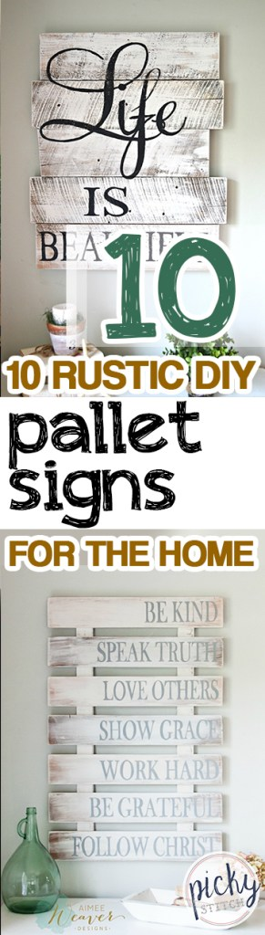 Pallet Signs, DIY Pallet Signs, Homemade Signs, DIY Wall Decor, Pallet Projects, Fun Pallet Projects, Pallet Projects for the Home, Popular Pin