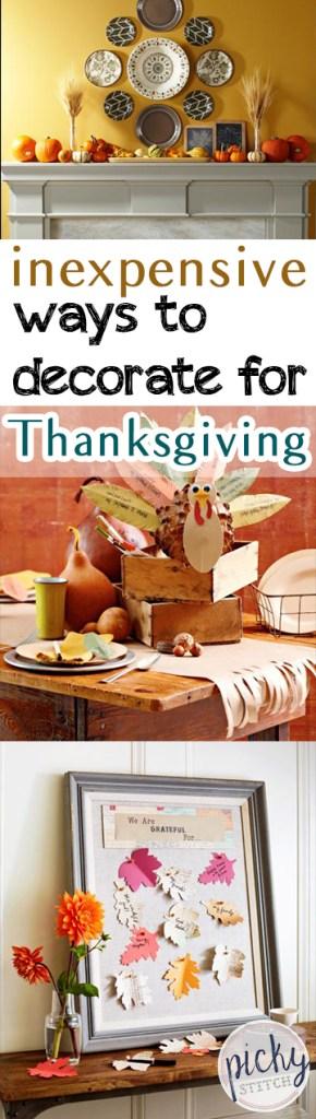 Thanksgiving Home Decor, DIY Thanksgiving, Home Decor, Thanksgiving DIY, Inexpensive Thanksgiving Projects, Thanksgiving Decor, Fall Holiday, Decorating for Fall, How to Decorate for Fall
