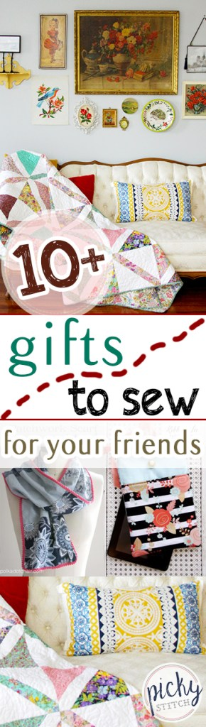 10+ Gifts to Sew For Your Friends| Sewing Crafts, Sewing, Sewing Projects, DIY Gifts, Handmade Gifts, Handmade Gifts for Friends, Sewing Patterns #Sewing #DIYGifts #HandmadeGifts #SewingPatterns