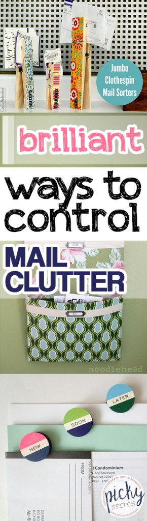 Brilliant Ways to Control Mail Clutter| Control Mail Clutter, How to Control Mail Clutter, Clutter Free Living, Clutter Free Home, Mail Organization, Mail Organization Tips #ClutterFree #ClutterFreeHome #HomeOrganization #Organization