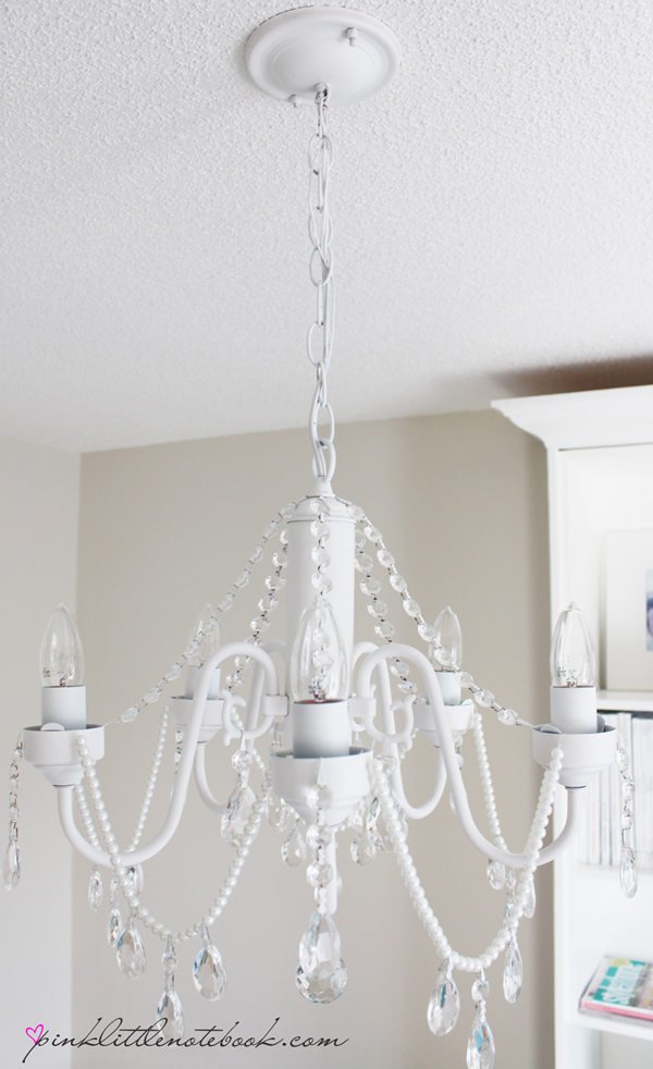 How to Make Your Own DIY Crystal Chandelier  DIY Crystal Chandelier, Crystal Chandelier Projects, DIY Lighting, Lighting Projects, Crystal Chandeliers, Popular Pin #CrystalChandeliers #Chandelier #DIYLighting