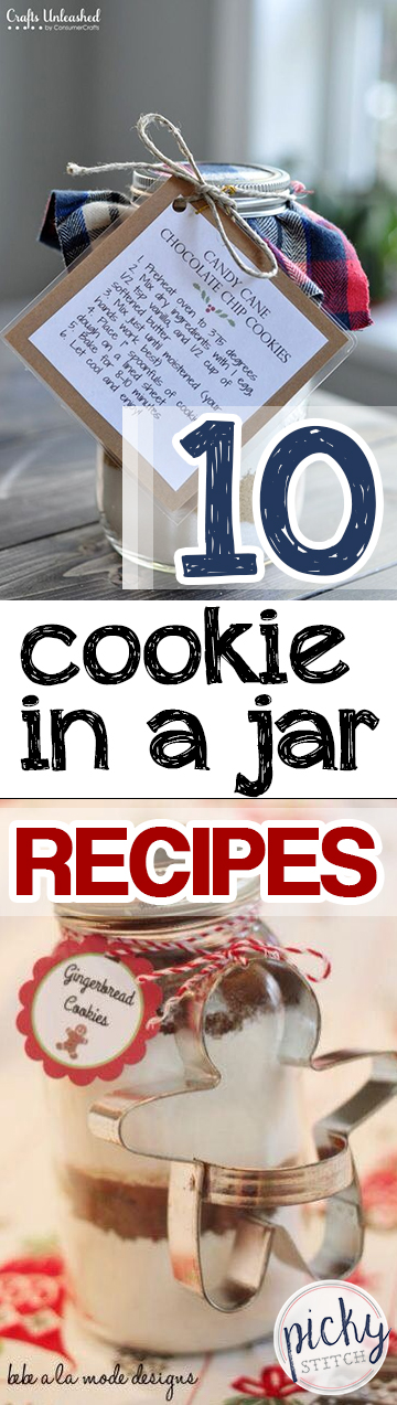 10 Cookie In a Jar Recipes| Cookie Recipes, Cookie In A Jar Recipes, Recipes, Holiday Recipes, DIY Holiday Recipes, Recipes, Food Recipes #HolidayRecipes #CookieInAJar #HolidayHacks
