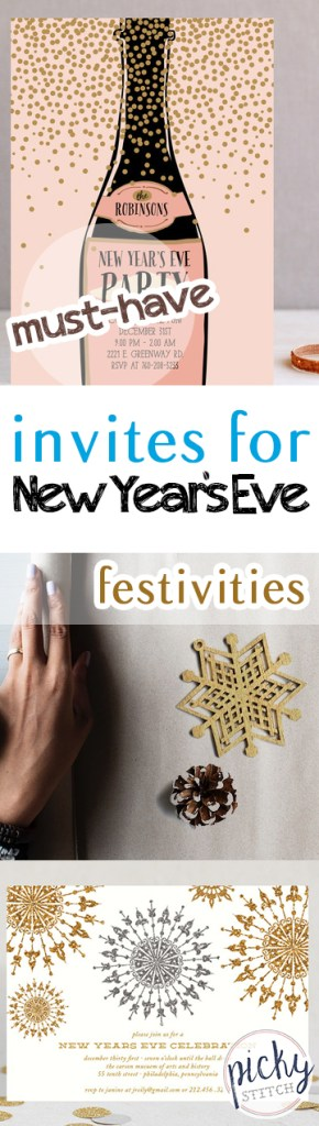 Must-Have Invites for New Years Eve Festivities| New Years Eve, New Years Eve Party Ideas, Party Ideas, NYE, DIY Party, Party Ideas, Popular Pin #NYE #NewYearsEve