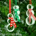 8 Merry PVC Pipe Crafts for Christmas| Christmas Crafts, PVC Pipe Crafts, PVC Pipe Crafts for Christmas, Christmas Crafts, Fun Christmas Crafts, Holiday Crafts, Holiday Craft Projects, Popular Pin #CraftsforChristmas #Christmas #ChristmasDecor