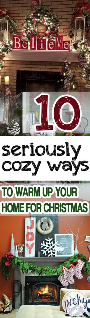 10 Seriously Cozy Ways to Warm Up Your Home for Christmas  Christmas Decor, Fun Christmas Decor, Holiday Home Decor, Christmas DIYs, DIY Christmas Decor #Holiday #Christmas #DIYHoliday