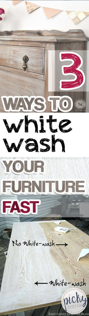 3 Ways to White-Wash Your Furniture FAST  White Wash Your Furniture, Paint Your Furniture, How to Paint Your Furniture, Popular Pin #WhiteWash #PaintYourFurniture